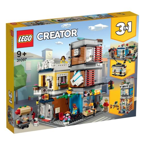 חנות חיות וקפה לגו מסדרת קריאטור 31097 LEGO