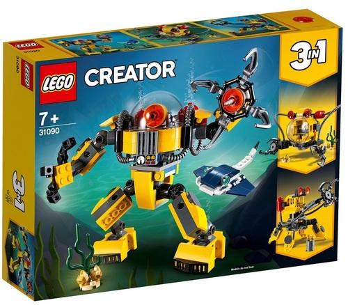 רובוט תת ימי שלושה באחד 207 חלקים 31090 לגו LEGO