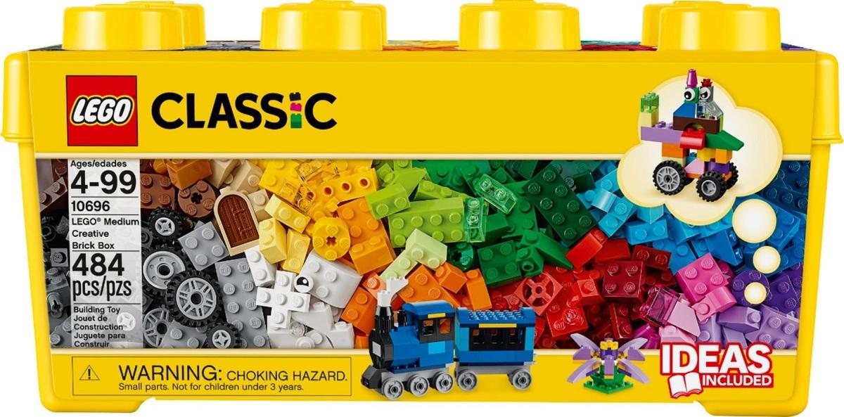 לגו קלאסיק לבנים יצירתיות בינוני 484 חלקים 10696 LEGO