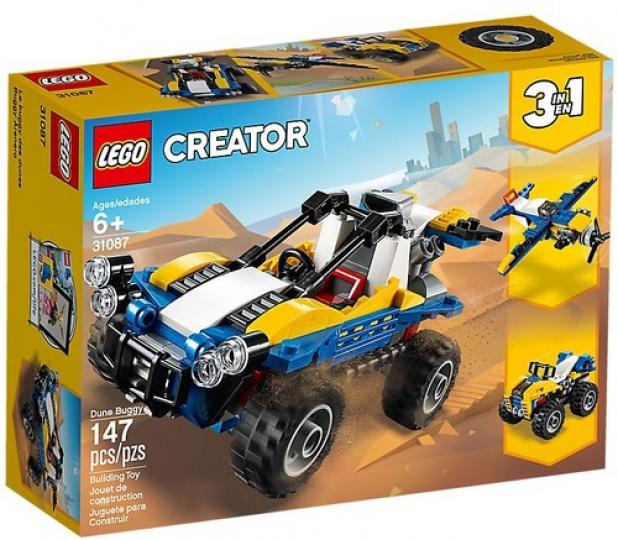 באגי דיונות שלושה באחד 147 חלקים 31087 לגו LEGO