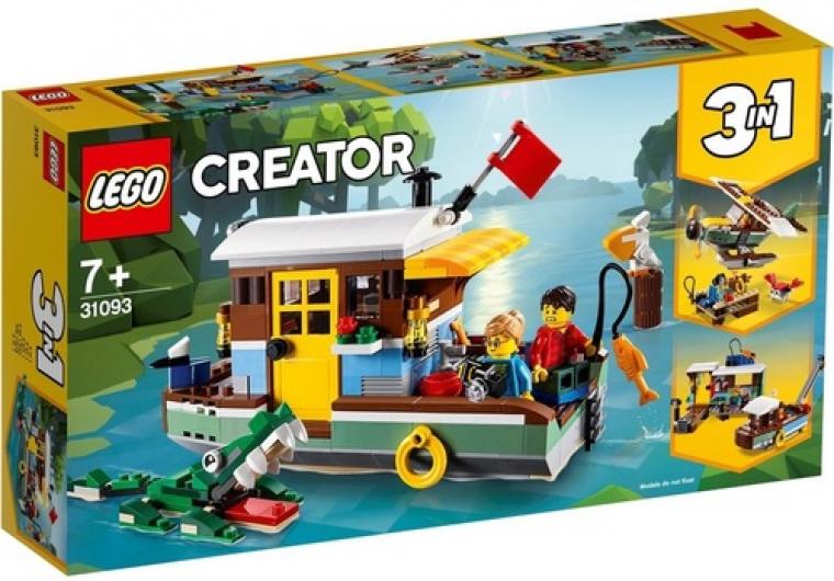 סירת בית שלושה באחד 396 חלקים 31093 לגו LEGO