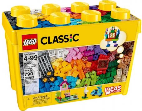 לגו קלאסיק יצירתיות גדול 790 חלקים 10698 LEGO
