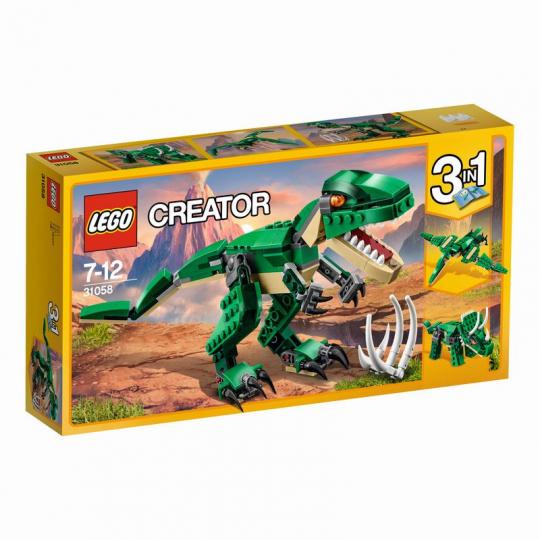 דינוזאור ירוק שלושה באחד 174 חלקים דגם 31058 לגו LEGO