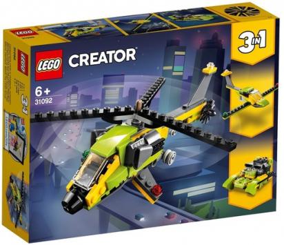 הליקופטר שלושה באחד 114 חלקים 31092 לגו LEGO