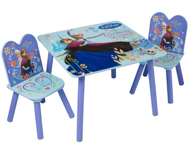 סט שולחן ו-2 כסא דגם פרוזן מרובע