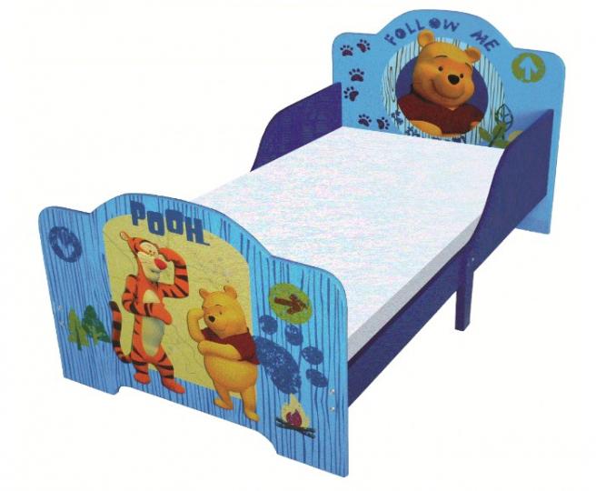 מיטת מעבר פו הדוב צבע כחול