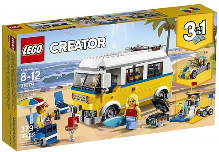 רכב גולשים שלושה באחד 379 חלקים 31079 לגו LEGO