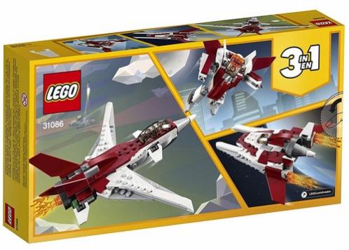 רחפן עתידני שלושה באחד 157 חלקים 31086 לגו LEGO