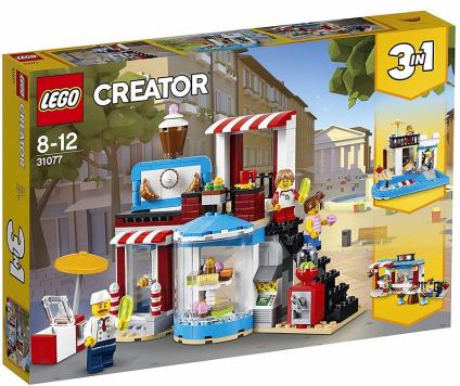 הפתעה מתוקה מודולרית שלושה באחד 396 חלקים 31077 לגו LEGO