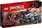 נינג'הגו – מרוץ רחוב- נחש נגד יאגור 308 חלקים דגם 70639 LEGO