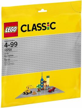 לגו קלאסיק משטח בסיס אפור 10701 LEGO