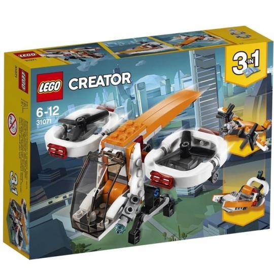מטוס ללא טייס שלושה באחד 109 חלקים 31071 לגו LEGO